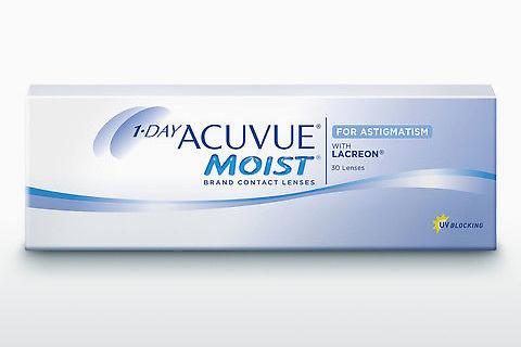 Contactlenzen Johnson & Johnson 1 DAY ACUVUE MOIST for ASTIGMATISM 1MA-30P-REV