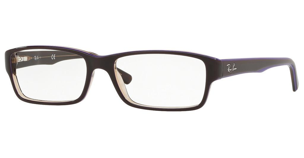 Ray-Ban   RX5169 5816 TRASP BROWN ON TOP VIOLET