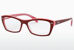 Designerbrillen Ray-Ban RX5255 (51) (RX5255 5777) - Rood, Roze
