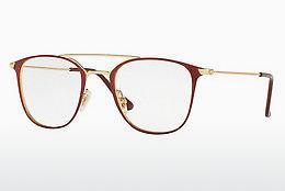 Designerbrillen Ray-Ban RX6377 2910 - Goud, Rood