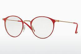 Designerbrillen Ray-Ban RX6378 2974 - Roze, Rood