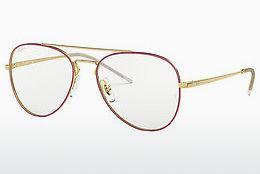 Designerbrillen Ray-Ban RX6413 2982 - Goud, Rood