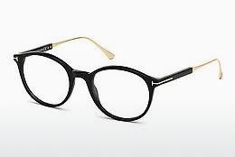 Designerbrillen Tom Ford FT5485 001 - Zwart, Shiny