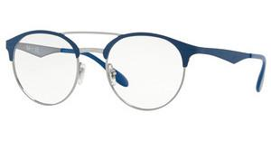 Ray-Ban RX3545V 3006 GUNMETAL ON TOP MATTE BLUE