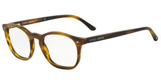 Giorgio Armani AR7074 5404 STRIPED MATTE LIGHT BROWN