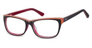 Sunoptic A61 D Black/Clear Red