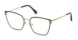 Tom Ford FT5574-B 069 bordeaux glanz