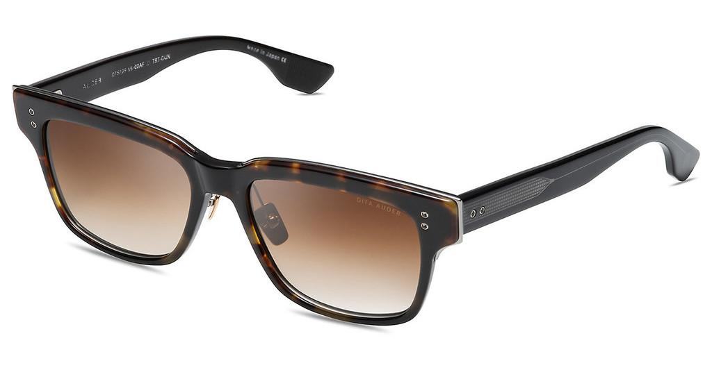 DITA   DTS-129 02AF Dark Brown to Clear - ARDark Tortoise - Gun Metal