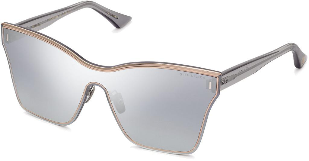DITA   DTS-508 02 Dark Grey to Clear - Silver Flash - ARRose Gold - Crystal Grey