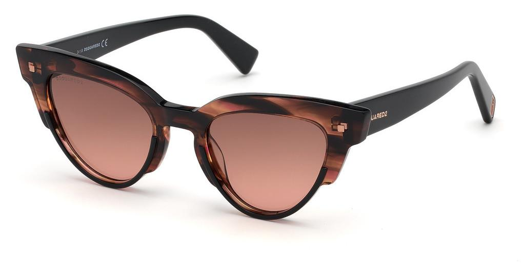 Dsquared   DQ0306 74S bordeauxrosa