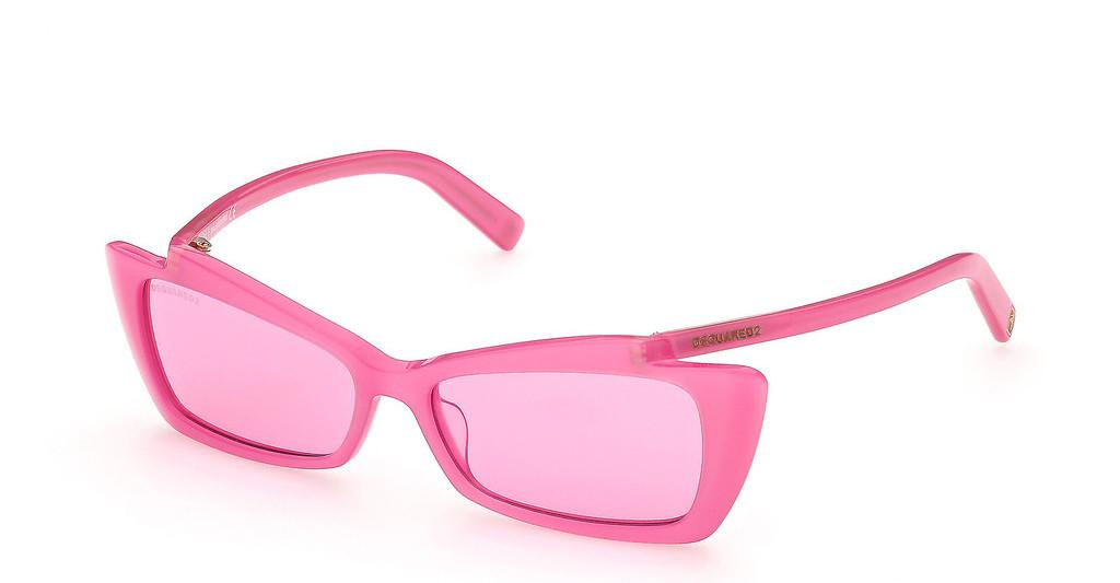 Dsquared   DQ0347 74S bordeauxrosa
