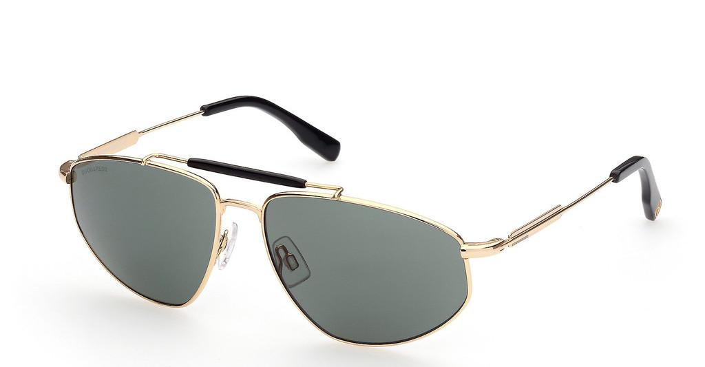Dsquared   DQ0354 30N grüntiefes gold glanz