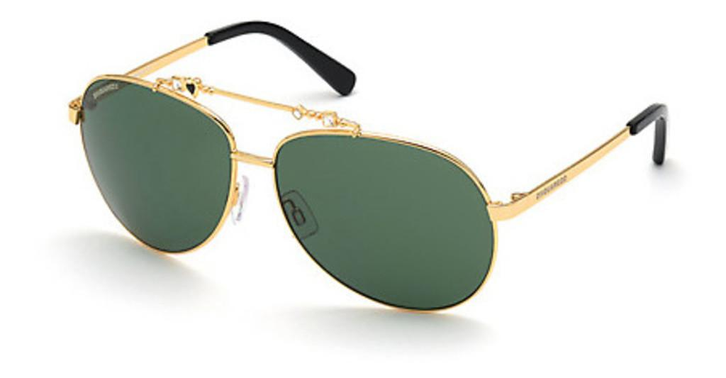 Dsquared   DQ0356 30N gruentiefes gold glanz
