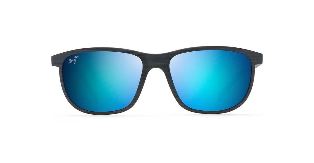 Maui Jim   Dragons Teeth B811-03S Blue HawaiiDark Navy Stripe