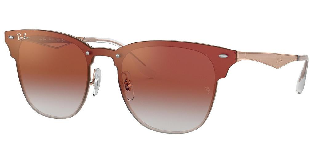 Ray-Ban   RB3576N 9039V0 CLEAR GRADIENT RED MIRROR REDBRUSHED COPPER
