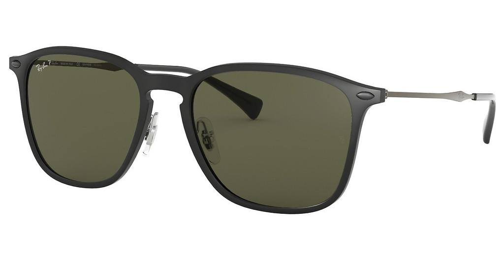 Ray-Ban   RB8353 63519A DARK GREEN - POLARBLACK GRAPHENE