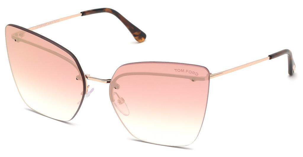 Tom Ford   FT0682 33G braun verspiegeltgold