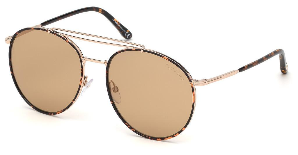 Tom Ford   FT0694 28E braunrosé