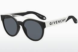 Zonnebril Givenchy GV 7017/N/S 80S/IR - Zwart, Wit