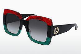 Zonnebril Gucci GG0083S 001 - Rood
