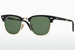 Zonnebril Ray-Ban CLUBMASTER FOLDING (RB2176 901) - Zwart