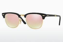 Zonnebril Ray-Ban CLUBMASTER FOLDING (RB2176 901S7O) - Zwart