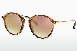 Zonnebril Ray-Ban Round/classic (RB2447 11607O) - Bruin, Havanna