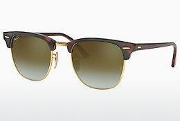Zonnebril Ray-Ban CLUBMASTER (RB3016 990/9J) - Bruin, Havanna