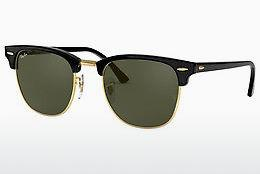 Zonnebril Ray-Ban CLUBMASTER (RB3016 W0365) - Zwart