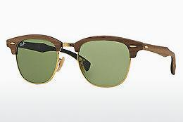 Zonnebril Ray-Ban CLUBMASTER (M) (RB3016M 11824E) - Bruin