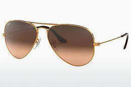 Zonnebril Ray-Ban AVIATOR LARGE METAL (RB3025 9001A5) - Bruin