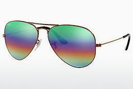 Zonnebril Ray-Ban AVIATOR LARGE METAL (RB3025 9018C3) - Bruin