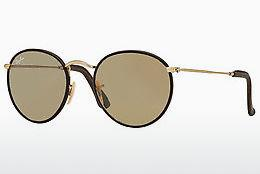 Zonnebril Ray-Ban ROUND CRAFT (RB3475Q 112/53) - Goud, Bruin