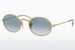 Zonnebril Ray-Ban OVAL (RB3547N 001/3F) - Goud