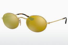 Zonnebril Ray-Ban Oval (RB3547N 001/93) - Goud