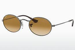 Zonnebril Ray-Ban OVAL (RB3547N 004/51) - Grijs