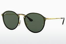 Zonnebril Ray-Ban Blaze Round (RB3574N 001/71) - Goud