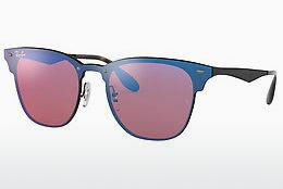 Zonnebril Ray-Ban Blaze Clubmaster (RB3576N 153/7V) - Paars, Zwart