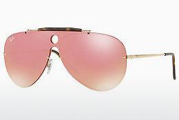 Zonnebril Ray-Ban Blaze Shooter (RB3581N 001/E4) - Goud