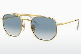 Zonnebril Ray-Ban THE MARSHAL (RB3648 001/3F) - Goud