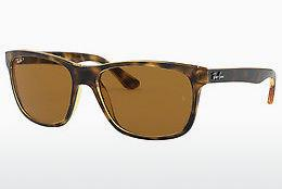 Zonnebril Ray-Ban RB4181 710/83 - Bruin, Havanna