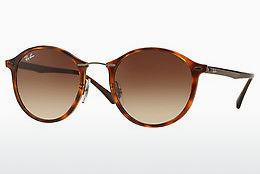 Zonnebril Ray-Ban Round Ii Light Ray (RB4242 620113) - Bruin, Havanna