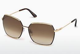 Zonnebril Tod's TO0185 28F - Goud