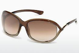 Zonnebril Tom Ford Jennifer (FT0008 38F) - Brons