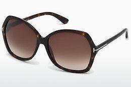 Zonnebril Tom Ford Carola (FT0328 52F) - Bruin, Dark, Havana