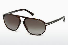 Zonnebril Tom Ford Jacob (FT0447 52B) - Bruin, Dark, Havana