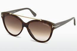 Zonnebril Tom Ford Livia (FT0518 53F) - Havanna, Yellow, Blond, Brown