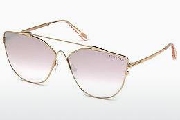 Zonnebril Tom Ford FT0563 33Z - Goud