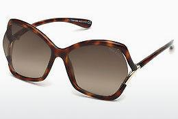 Zonnebril Tom Ford FT0579 53K - Havanna, Yellow, Blond, Brown