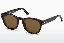 Zonnebril Tom Ford FT0590 52J - Bruin, Dark, Havana